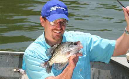 Justin Sommer may be a little bit biased when he talks about how good Minnesota crappie fishing