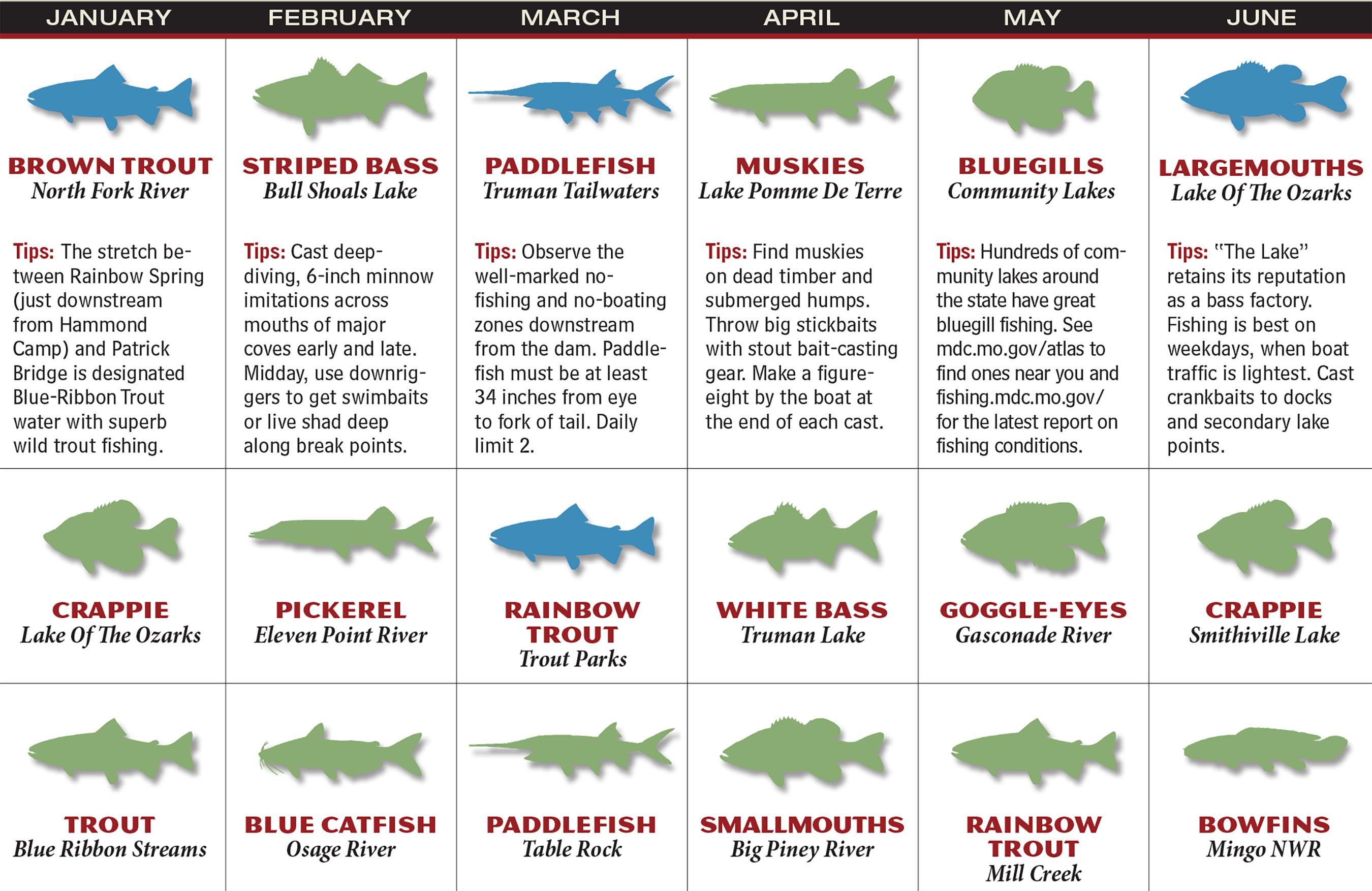 MO Fishing Forecast Calendar P1