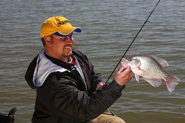 West Virginia crappie fishing