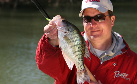 Tennessee crappie fishing