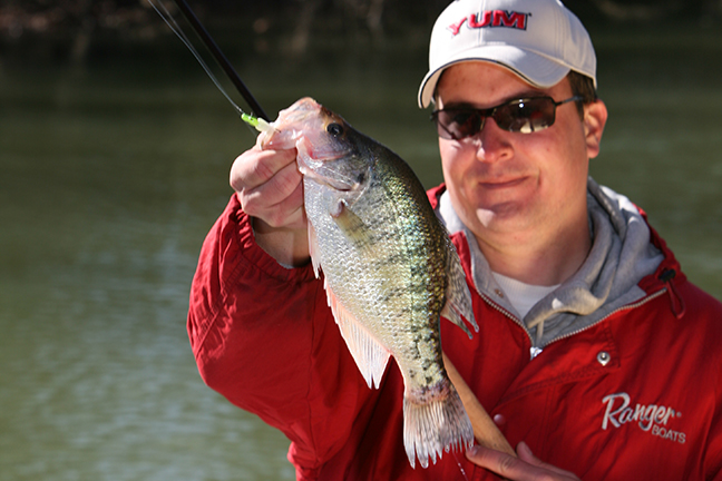 Tennessee Crappie Fishing Forecast Spring 2017