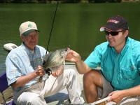 Virginia crappie fishing