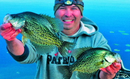 Top 10 posts record bass crappie forecast big catfish for Best crappie fishing times