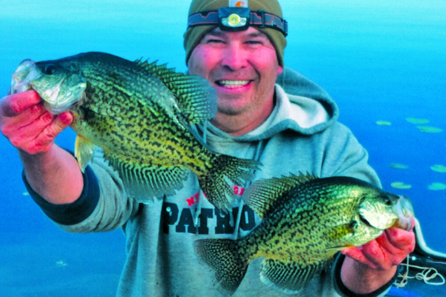Crappie fishing how to find 39 em after cold front game for Crappie fishing game