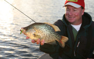 Game fish for Indiana crappie fishing