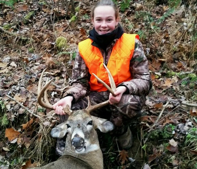 Reader Photo of the Day: Emily's First Buck