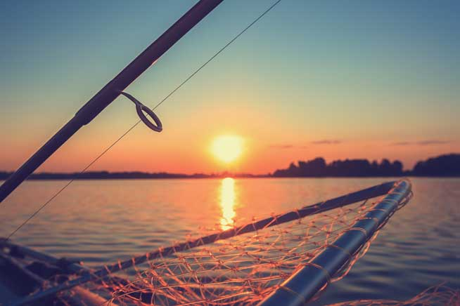 Lake Ontario fishing
