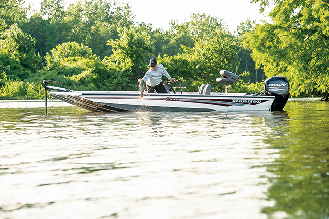 Kentucky bass fishing