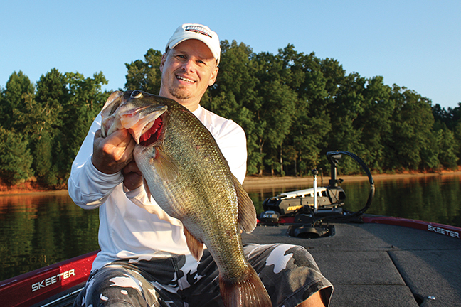 Mississippi bass fishing