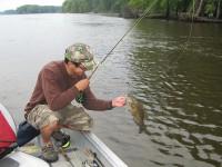 West Virginia bass fishing