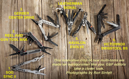 If you blinked, you've missed an incredible, innovative crop of new multi-tools.  Photographs by