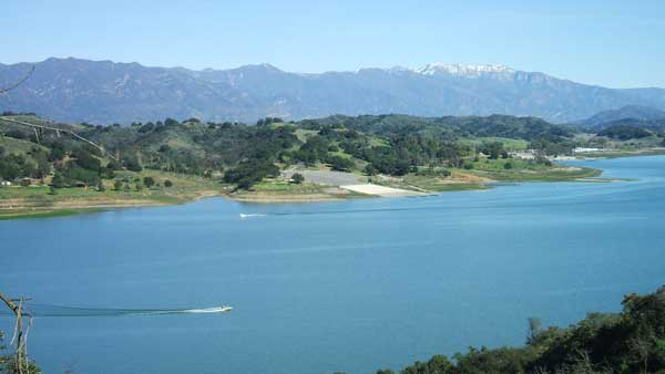 Lake Casitas outside of Ojai is known for world-class bass fishing. Photo courtesy Casitas Municipal Water District