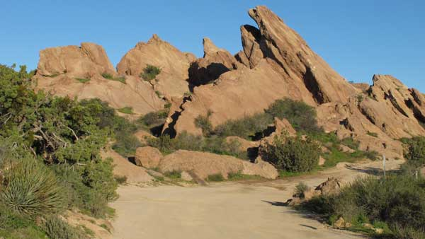 Vasquez Rocks will look familiar even to first-time visitors as the dramatic formations have appeared in countless movies and TV shows.