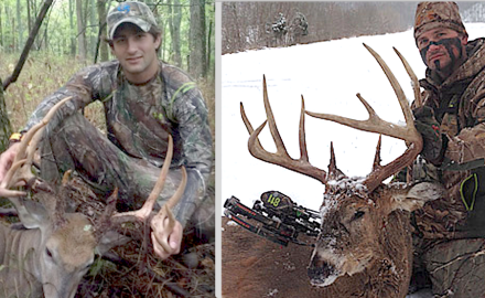 Two Kentucky men featured on a national TV hunting show face more than $30,000 in fines after