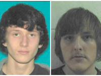 Suspects Mark Shepherd (left) and Christopher Hodges. (Indiana DNR Facebook images)