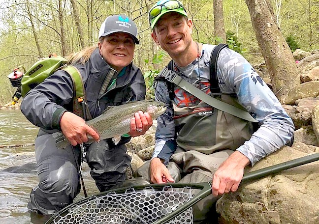 Pamela's Story: A Memorable Fly Fishing Encounter