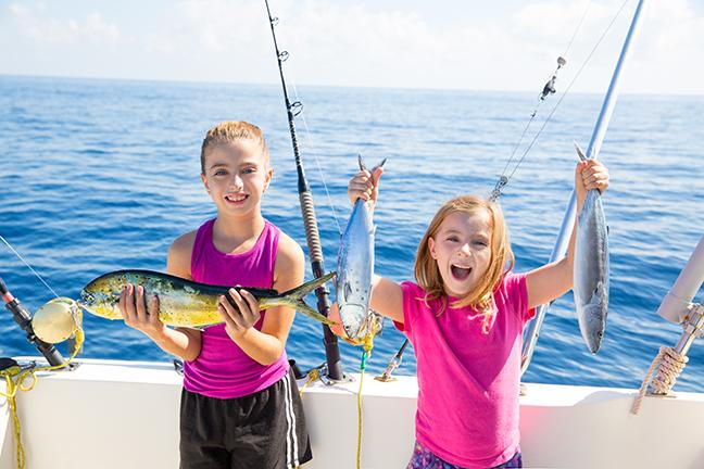 2017 California Family Fishing Destinations