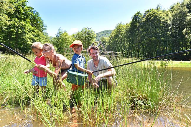 Family Fishing Indiana