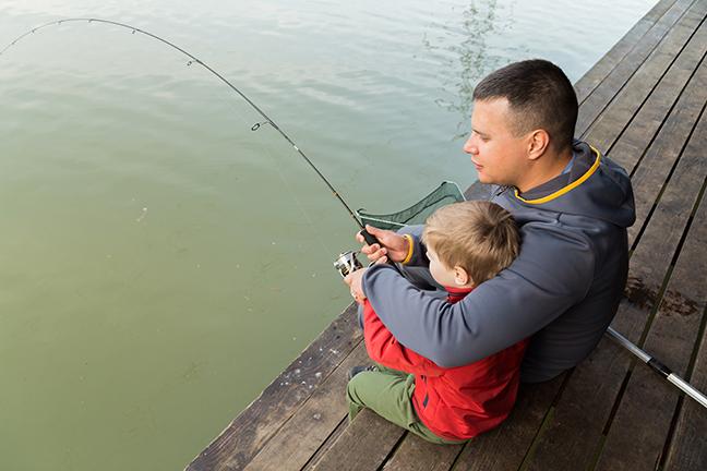 Family Fishing Washington and Oregon