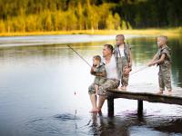 Family Fishing Wisconsin
