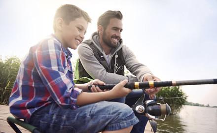 Iowa Family Fishing