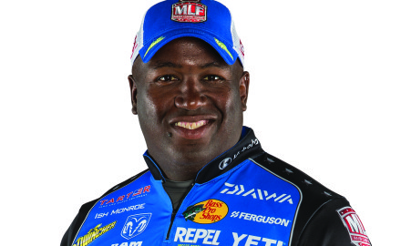 Bass pro Ish Monroe is consistently in the money. He's placed in the Top 10 30 times in his