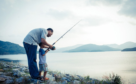 New England Family Fishing