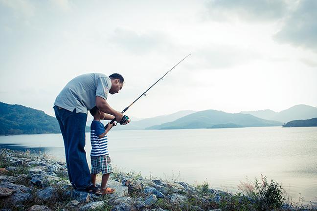 New England Family Fishing