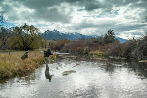 Many of the smaller creeks in Yellowstone Country offer the chance to get away from the crowds and have untouched water to yourself. Photo by Greg Thomas