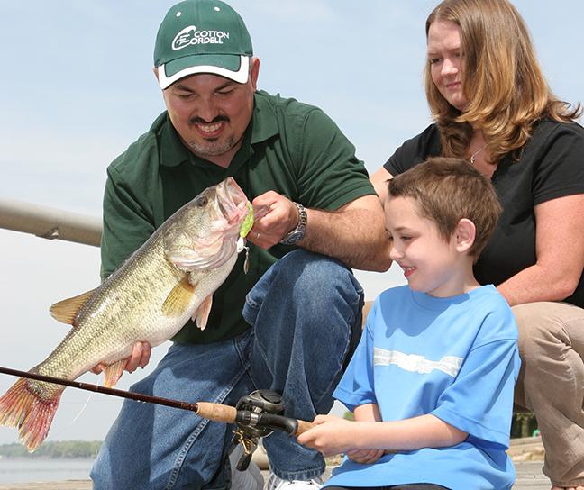South Carolina Family Fishing