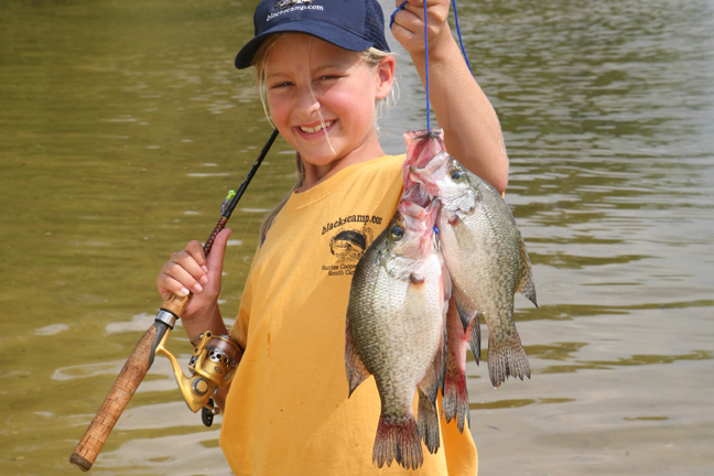 Tennesse Family Fishing Kid