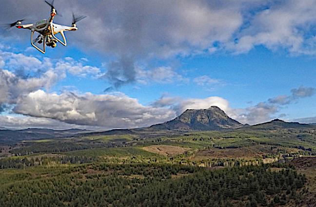 Agency Uses Drones As Part of Elk Survey
