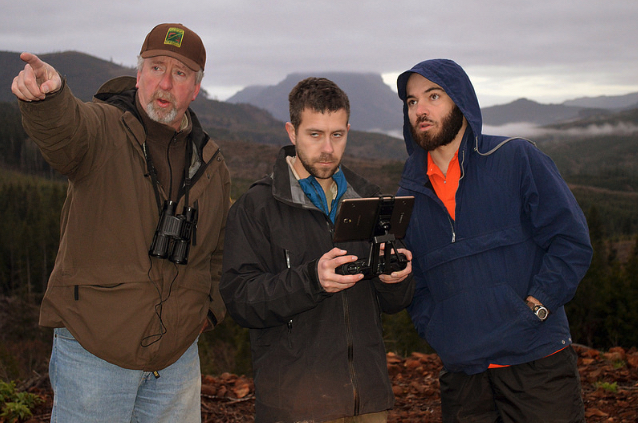 Agency uses drones as part of elk survey game fish for Oregon fish and game