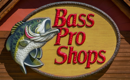 There apparently is a social media trend of pranksters jumping into Bass Pro Shops aquariums and