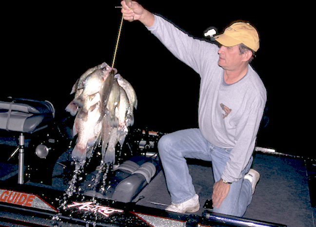 6 Tips for Nighttime Crappie