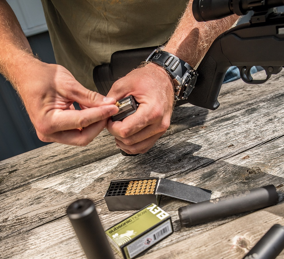 Suppressors Shootout: 4 New  22LR Cans Tested'