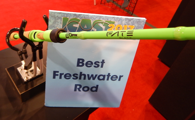 Who won icast 2017 best of show game fish for 13 fishing fate black