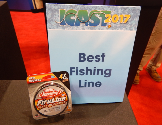 Who won icast 2017 best of show article fri 14 jul for Good fishing line