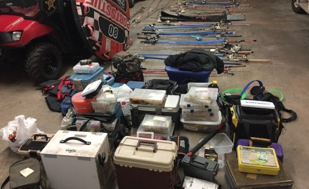 fishing tackle thefts