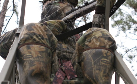 After you pick a location, be sure to think comfort when packing for a day in your tree stand this