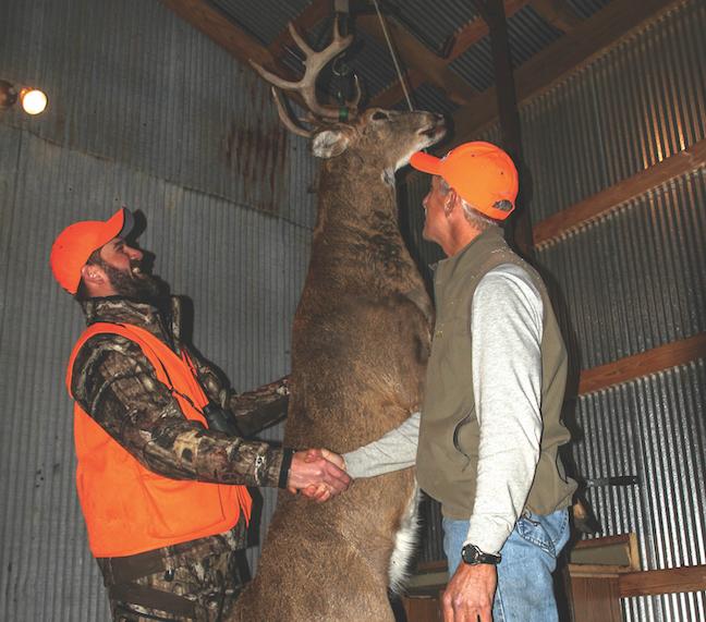 crossbow deer hunting