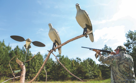 Over the past few years, dove hunters have been using something once used exclusively by