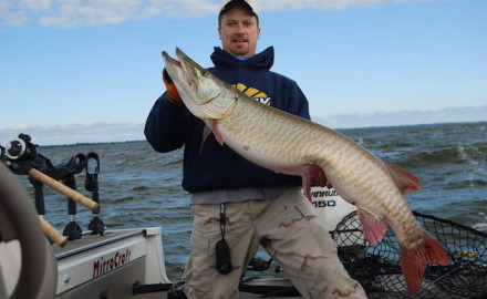 These are the best places in the U.S. to catch truly world-class muskies.