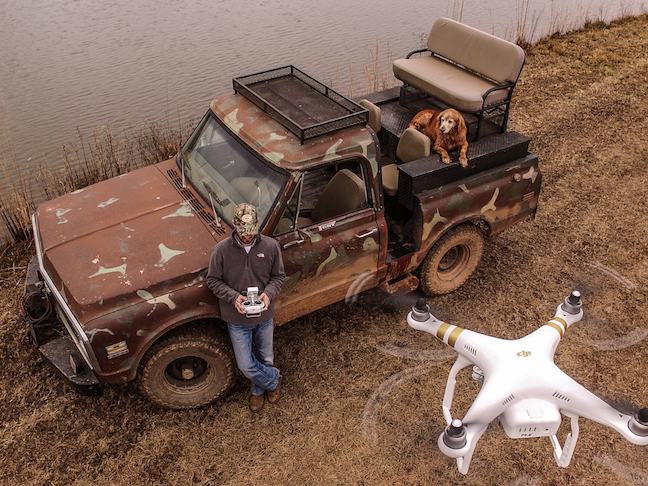 drones and deer hunting
