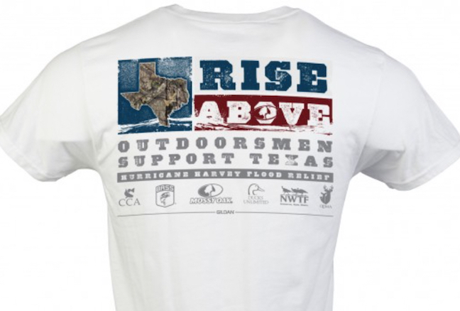 Mossy Oak T-Shirt Sales Support Hurricane Harvey Victims