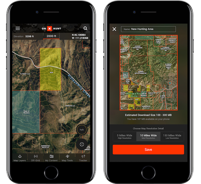 Gear Tech App Made For Hunting Exploring Game Fish - Onx map app