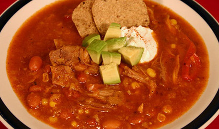 Put your hunting rewards to good use with this Game Bird Tortilla Soup Recipe.