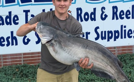 It is'the second time this year the Delaware state record catfish has been broken.