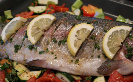Trying to eat light and healthy, but still want something tasty and satisfying? This lemon brine trout recipe is for you