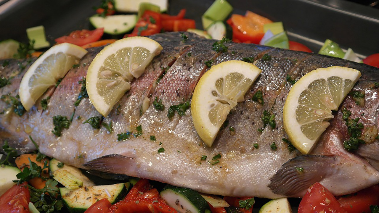 Lemon Brine Trout Recipe